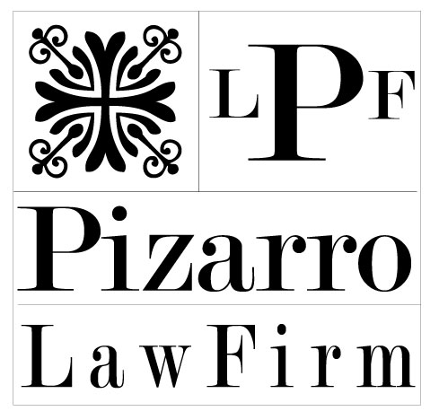 New Logo Design for Pizarro Law Firm