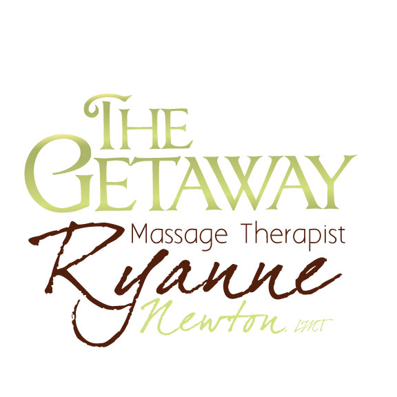 New Logo Design for The Getaway – Ryanne Newton, LMT, Massage Therapist