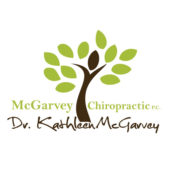 New Logo Design for McGarvey Chiropractic!
