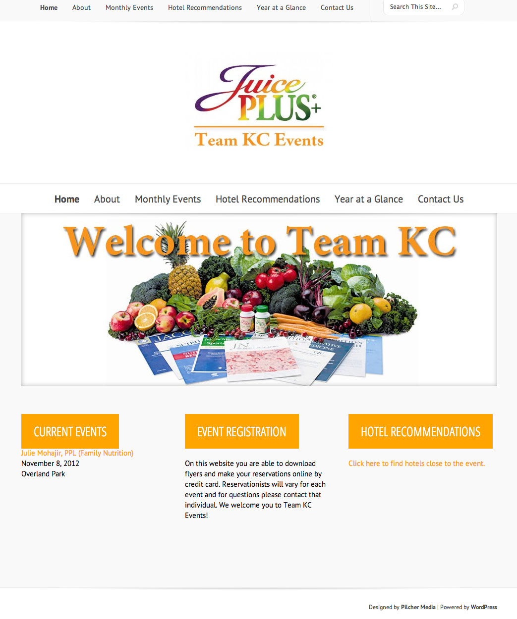 New Website for Team KC JuicePlus!