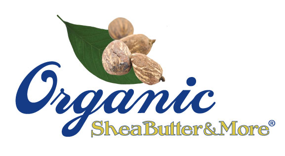 New Logo for Organic Shea Butter & More!