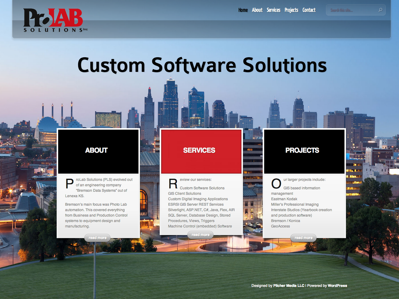 New Website for ProLab Solutions
