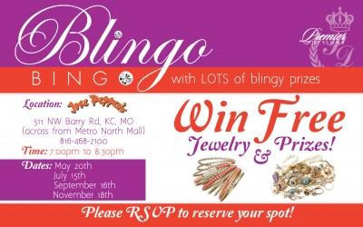 New Postcards for Blingo Bingo with Premiere Jewelry