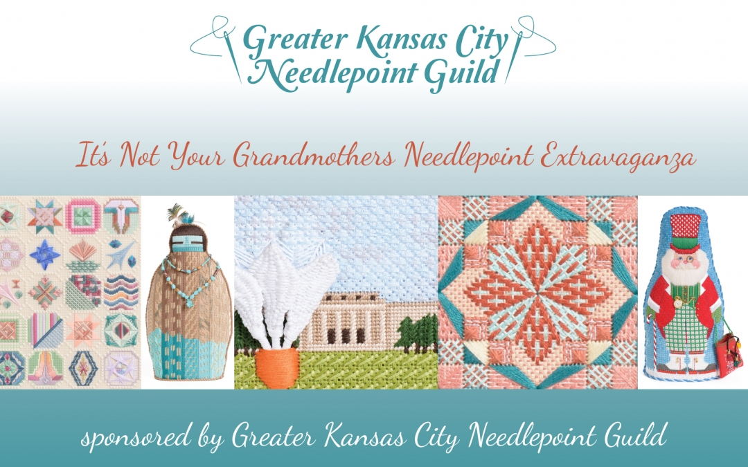 New Postcards for Greater Kansas City Needlepoint Guild