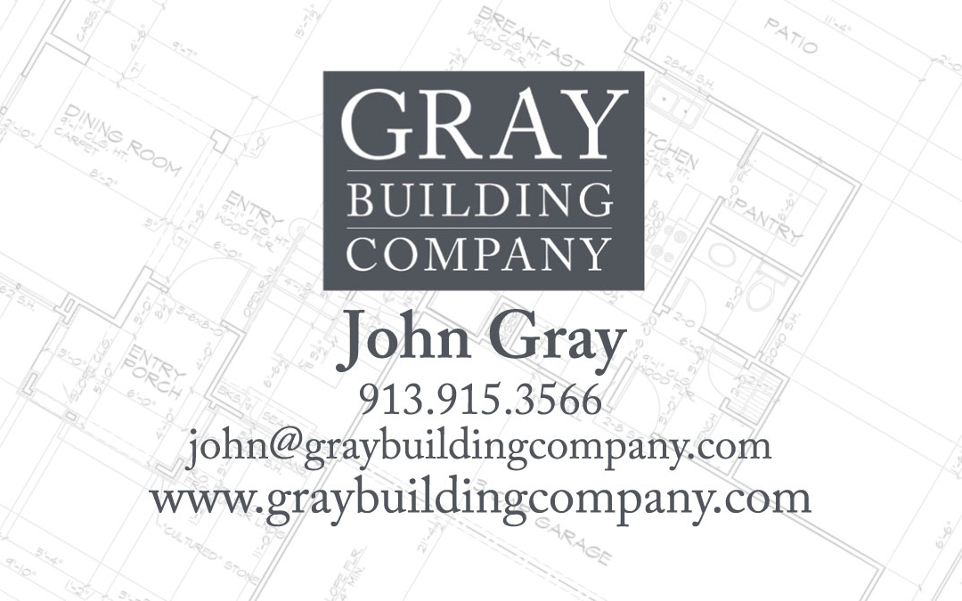 New Business Cards for Gray Building Company